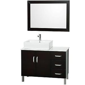 Bathroom Vanity on Sophia 40 Inch Bathroom Vanity Set   Espresso   Amazon Com