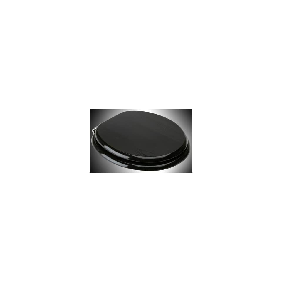 Brilliant Toilet Seats Black Painted Hardwood Round Toilet Seat Evergreenethics Interior Chair Design Evergreenethicsorg
