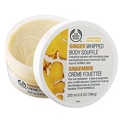 Body Shop Ginger Whipped Body Souffle' 6.8 Oz.