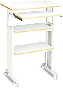 Safco Products Muv Stand-up Adjustable Height Computer Workstation, Gray, 1929GR