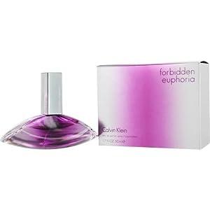 Forbidden Euphoria By Calvin Klein Eau De Parfum Spray 1.7 Oz For Women
