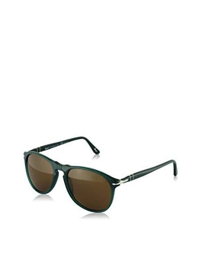 Persol Gafas de Sol Polarized PO9649S 101357 55 (55 mm) Verde Oscuro