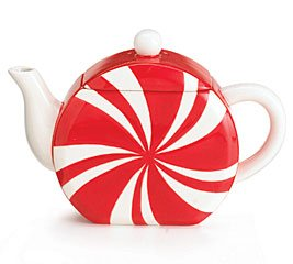 Buy Peppermint Candy Shape Teapot for Kitchen Decor and Party Decor