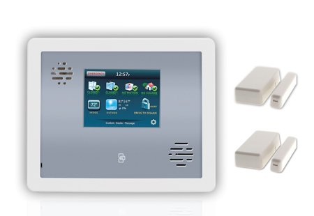 Livewatch Gsm Home Security Burglar Alarm System Package front-263609