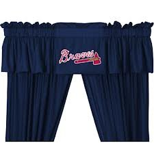 Atlanta Braves MLB Baseball Valance at Amazon.com