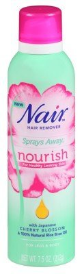 Nair Hair Remover Sprays Away Nourish 7.5oz Legs And Body (2 Pack)
