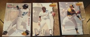 1994 Ted Williams Co. San Diego Padres Team Set 3 Cards by Other
