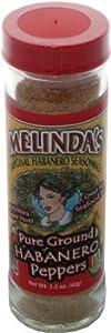 Melindas Pure Ground Habanero Peppers by Melinda's