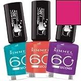 60 Seconds by Rimmel London by Rimmel Xpress Brush Nail Varnish 12ml Stop Traffic #280