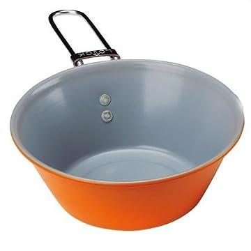 エバニュー(EVERNEW) セラミックコートシェラカップL オレンジ(200) EBY333
