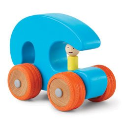 Ready, Set, Go! Blue/Red Push Toy
