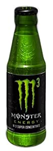 Monster Energy Drink, M3, 5-Ounce Glass Containers (Pack of 24)
