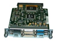 Cisco 2-Port Asynchronous/Synchronous Serial WAN Interface Card Module d'extension HWIC RS-232, RS-530, X.21, V.35, RS-449, RS-530A 2 ports