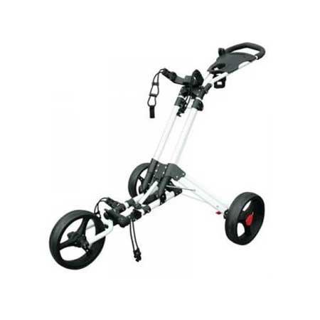 Masters Golf Trolley 3 Rad Push Golftrolley - iCart one Farbe: Weiss