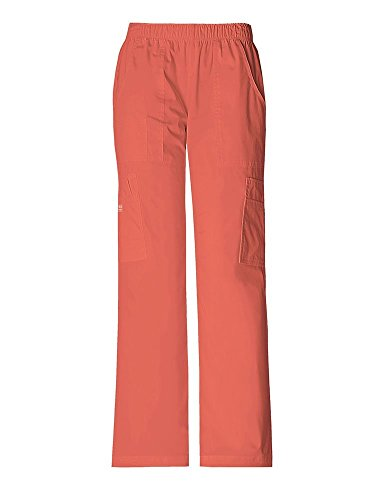 core-stretch-by-cherokee-workwear-womens-elastic-waist-scrub-pant-x-large-sunburst