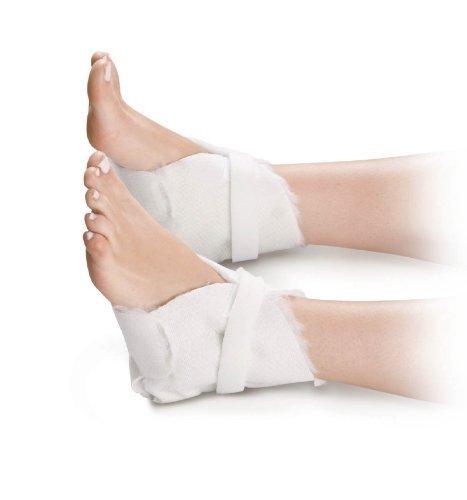 Synthetic Fur Lined Heel Protectors ( PROTECTOR, HEEL, ECON, HK&LP FASTEN ) 6 Pair / Case by Med Industries