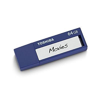 Toshiba TransMemory ID USB 3.0 Flash Drive 32GB - Blue (PFU032U-1BLL)