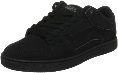 Vans Men's Baxter Manmade Nubuck/Gum Rubber Black/Black Trainer VL3MBKA 8.5 UK