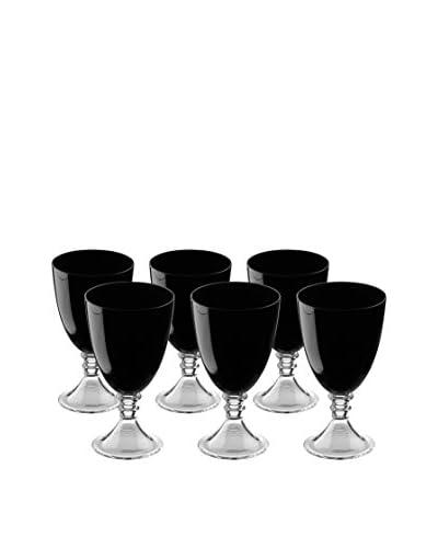 Artland Set of 6 Veranda 19-Oz. All-Purpose Glasses, Black
