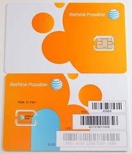 ATT 3G LTE プリペイド NANO SIMカードSKU 4488A 並行輸入品 ナノSIMカード [並行輸入品]