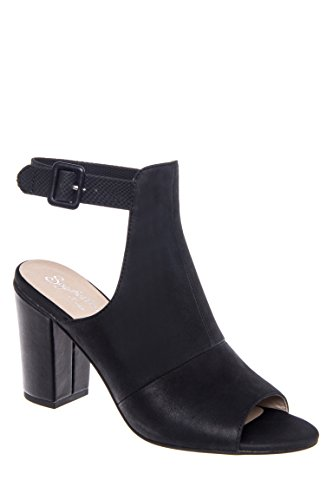 Discovery Open Toe Leather Bootie