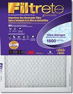 "3m Ultra Allergen Reduction Filter Ultimate 12 "" X 36 "" X 1 "" Electrostatic 1500 Mpr Merv 11"