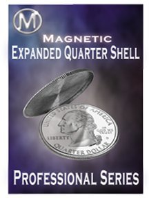 M Is Magic: Magnetic Quarter Expanded Shell Coin