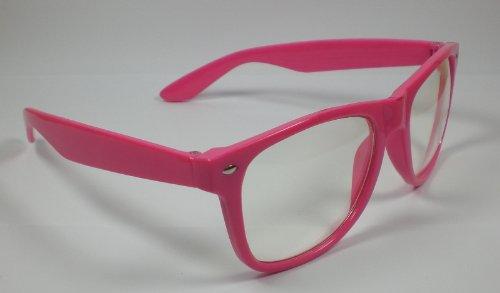 Brille mit Fensterglas Spaßbrille
