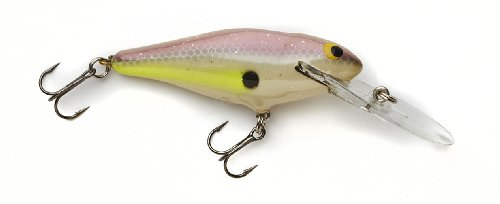 Today Bagley Deep Diving Shad Genuine Balsa Wood Fishing Bait, Sexy Shad, 2 3/4-Inch