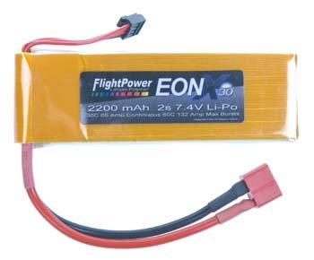 EONX30-22002S EONX 30 LiPo 2S 7.4V 2200mAh 30C