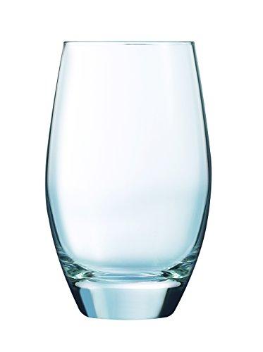 Luminarc 9205356 Felicity Gobelets Forme Haute Verre Transparent 35 cl - Lot de 6