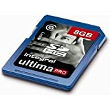 Brand New. Integral Ultima Pro SDHC Memory Card with Protective Case Class 6 Capacity 8GB Ref INSDH8G6