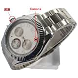 640 x 480 4GB Video Camera Spy Watch Camera - 4GB