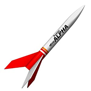 Estes 3216 Super Alpha Flying Model Rocket Kit