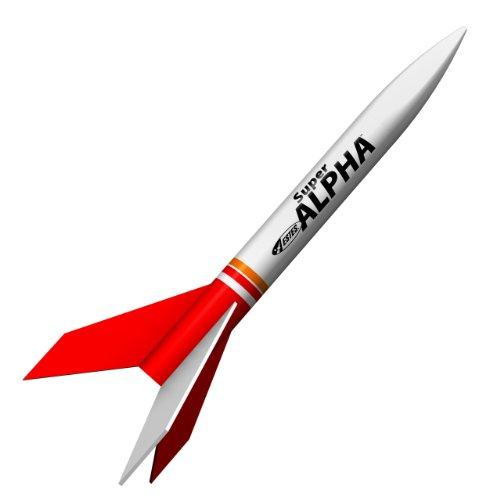 Estes 3216 Super Alpha Flying Model Rocket Kit