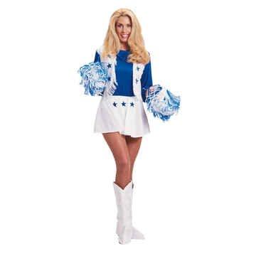 Dallas Cowboys Cheerleader Costume (Women's Adult Large 14-16) (Dallas Cheerleaders Costume)