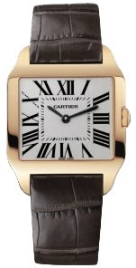 Cartier New Cartier Santos-dumont Small Solid 18k Gold Watch W2009251