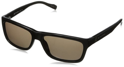 Boss By Hugo Boss Men'S Bo0094S Rectangular Sunglasses,Black,55 Mm