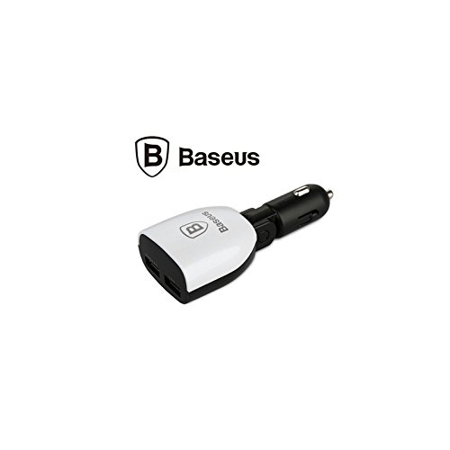 Mobilegear Baseus Dual USB Port Car Charger