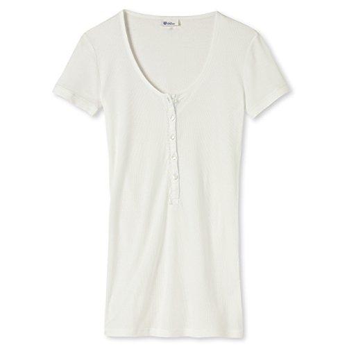 Schiesser Revival Elvira - Shirt 1/2 Knopfleiste