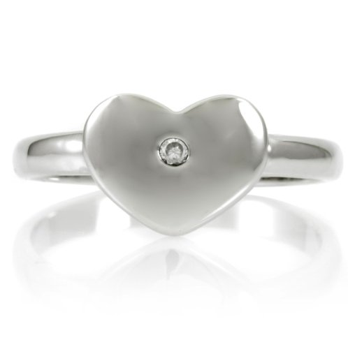 Heart Promise Ring - Inspired by Vanessa Hudgens Engravable