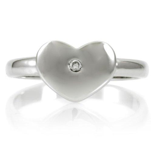Heart Promise Ring - Inspired by Vanessa Hudgens Engravable