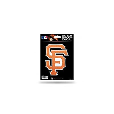 Rico Industries 9474682076 San Francisco Giants Bling Die-Cut Decal