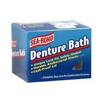 Sea Bond Denture Bath Brimms