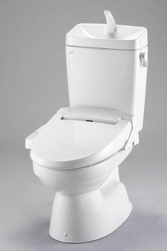 INAX LIXIL・リクシル トイレ 一般洋風便器(BL認定品)【C-110STU/DT-5800BL】床排水 ECO6 手洗付 便座なしセット(オフホワイト)