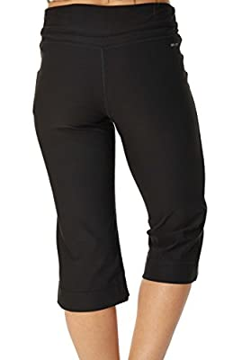 Nike Women's Dri-Fit Work Out Training Capri Pants-Black