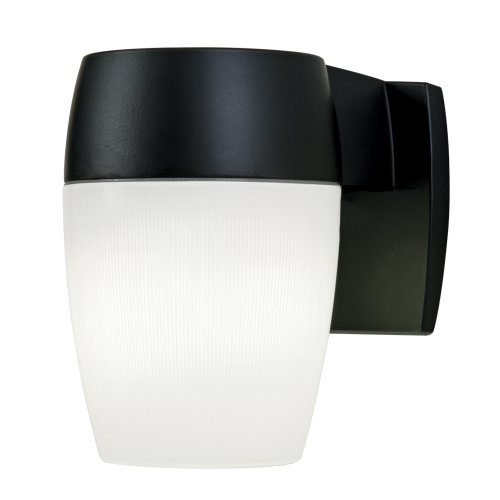 Cooper Lighting PFL23PCT24 23W Decorative Dusk to Dawn Patio Light. Energy Star, Title 24, 23W GU24 Bulb Included Black