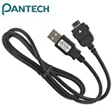 OEM Pantech USB Data Cable for Pantech Breeze C520, C610, C630, Duo C810, Matrix C740, Matrix Pro C820, Reveal C790, Slate C530, Impact P7000, Link P7040, Pursuit P9020, Verizon Razzle PCD TXT8030
