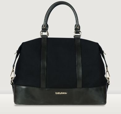 BabyBeau Isabelle Changing Bag - Black - 1