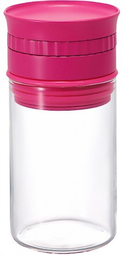 Harionuba-Weighing spice stocker Cherry Pink NSS-M-PC (japan import)